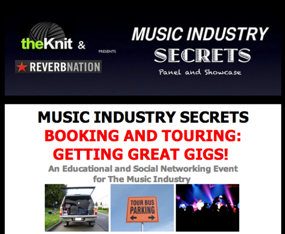 Music Industry Secrets Panel This MONDAY